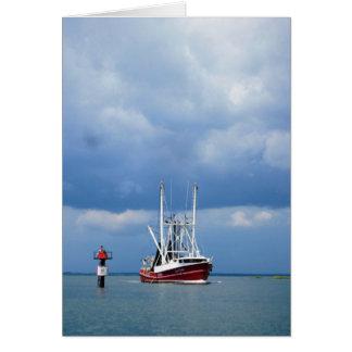 Cartão Comida de mar