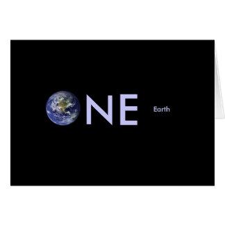 Cartão Comissários de bordo da terra do planeta: