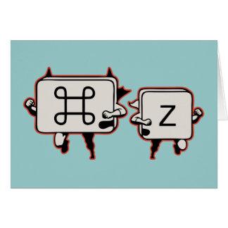 Cartão Commandman & Zidekick