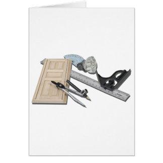 Cartão CompassRulerDoorKnobTools021411