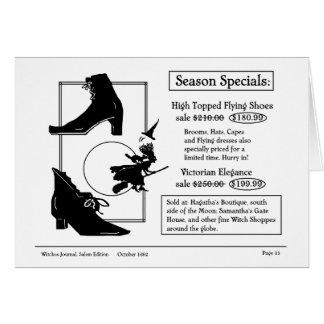 Cartão Comprar para a extremidade de calçados do vôo da