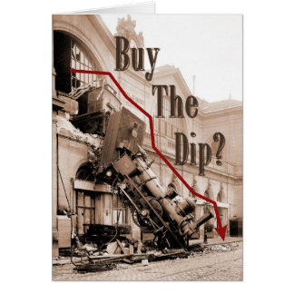 Cartão Compre o humor do mercado de valores de acção do