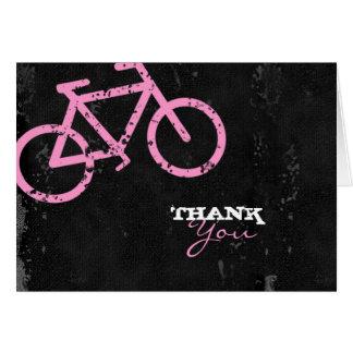 Cartão Concreto da cidade do ciclo do GC | - rosa