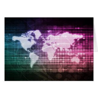 Cartão Conexão de rede global e integrado