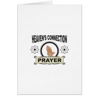 Cartão conexão dos céus
