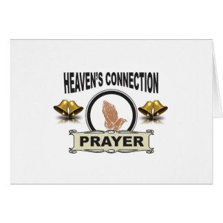 Cartão Conexão dos céus de Bels
