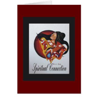 Cartão conexão espiritual