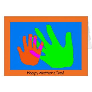 Cartão Conexões da mãe e da criança