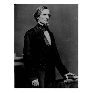 Cartão confederado do presidente Jefferson Davis
