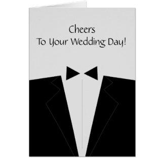 Cartão congratulatório Wedding