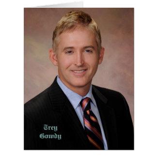 Cartão Congressista Trey Gowdy