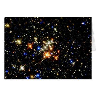 Cartão Conjunto de estrela