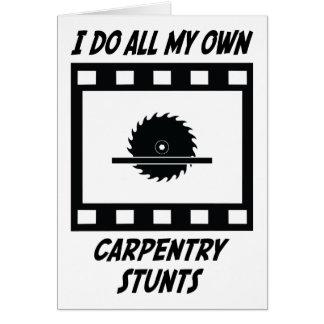 Cartão Conluios da carpintaria
