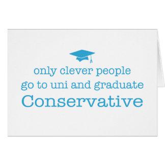 Cartão Conservadores inteligentes!
