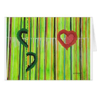 Cartão - consolidação do caso amoroso