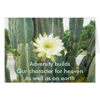 Cartão Construções da adversidade