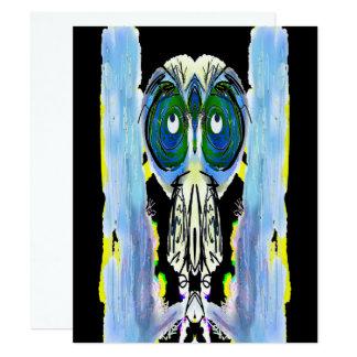 Cartão Contador de histórias - asas grampeadas