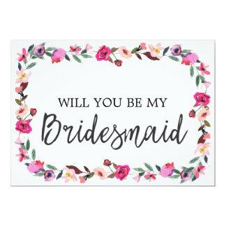 Cartão Conto de fadas romântico você será minha dama de