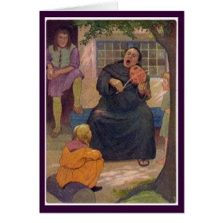 Cartão Contos de Canterbury - Hubert o frade