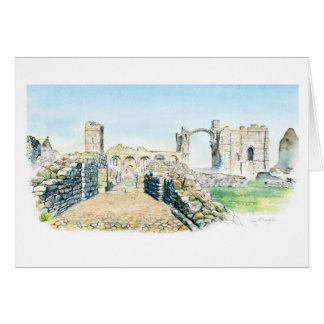 Cartão Convento de Lindisfarne
