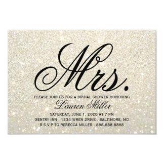 Cartão Convide - a Sra. fabuloso Rega do ouro branco
