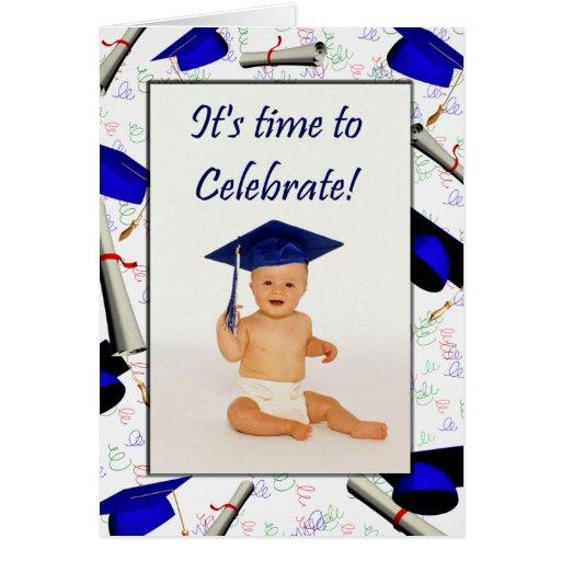 Cartão/convite da graduação