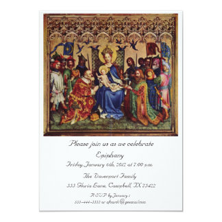 Cartão Convite: Peregrinação interior