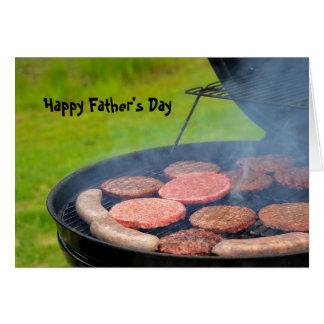 Cartão Cookout do dia dos pais