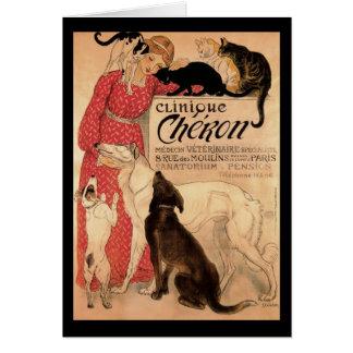 Cartão Cópia de Cheron 1905 da clínica