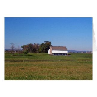 Cartão Copie (6) da fazenda da guerra civil