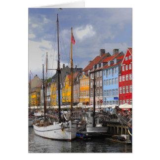 Cartão Cor de Copenhaga