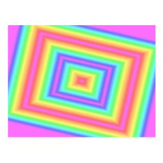 Cartão cor-de-rosa da infinidade