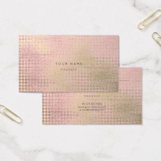 Cartão cor-de-rosa da nomeação do corte do