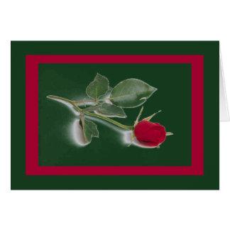 Cartão cor-de-rosa do dia dos namorados