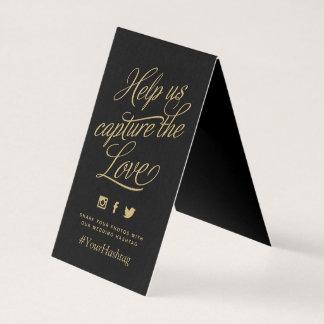 Cartão Cor feita sob encomenda sinal Wedding