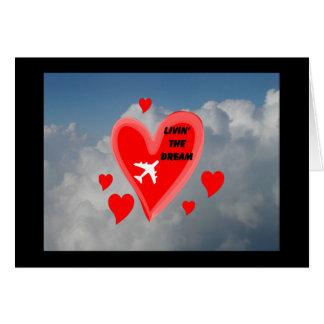 Cartão Coração crescente