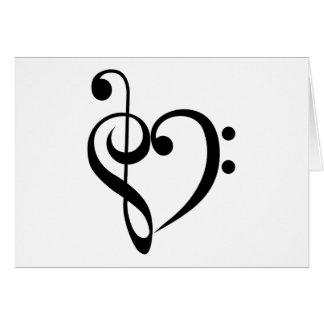 Cartão Coração musical