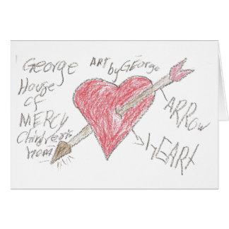 Cartão Coração por George