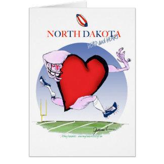 Cartão coração principal de North Dakota, fernandes tony