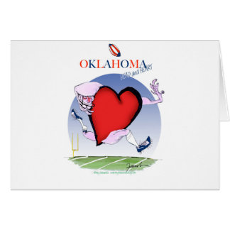 Cartão coração principal de oklahoma, fernandes tony