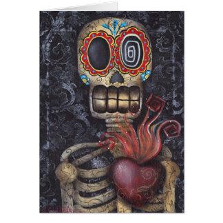 Cartão Coração sagrado