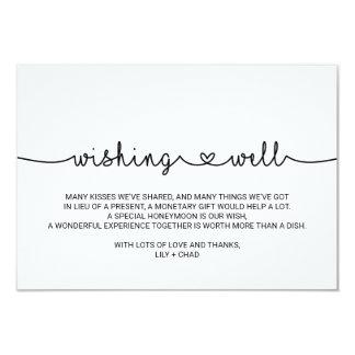 Cartão Corações do amor que Wedding o desejo bem