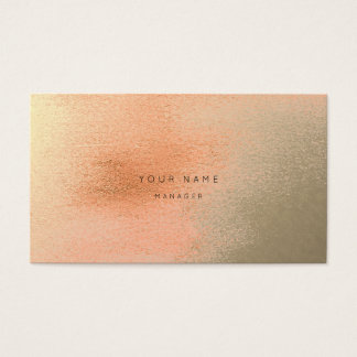 Cartão coral da nomeação do abstrato do metal do