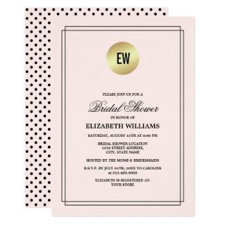 Cartão Coram os chás de panela cor-de-rosa das bolinhas