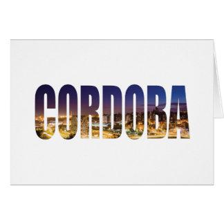 Cartão Córdova