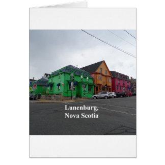 Cartão Cores de Lunenburg