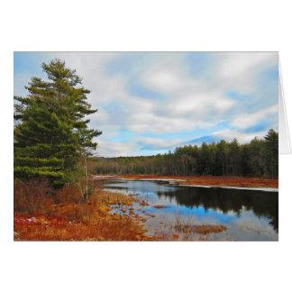 Cartão Córrego do pântano