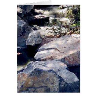 Cartão Córregos da rocha