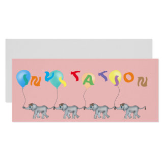 Cartão Corrente do elefante pelos Feliz Juul Empresa