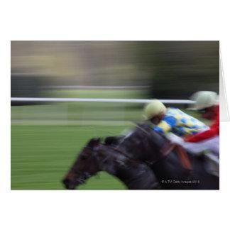 Cartão corrida de cavalos 3